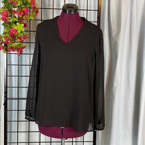 IMAN Blouse With Pleated Back Size S